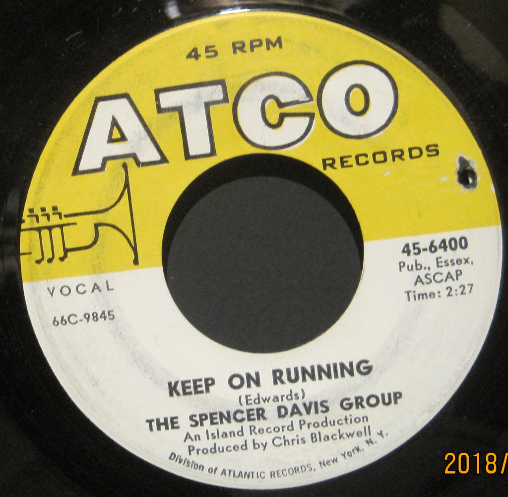 Spencer Davis Group - Keep On Running b/w High Time Baby