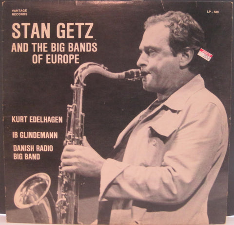 Stan Getz and The Big Bands of Europe