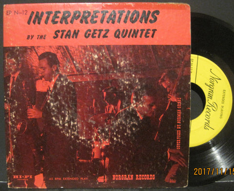 Stan Getz Quintet - Interpretations Ep