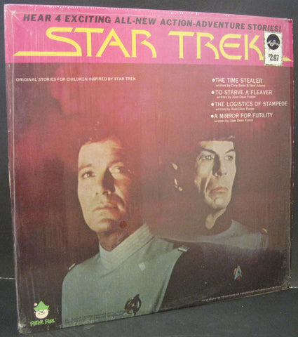 STAR TREK - 4 Exciting Action Adventure Stories on Peter Pan