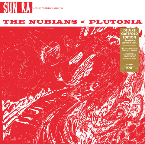 Sun Ra - The Nubians of Plutonia - import 180g LP w/ gatefold + 2 Bonus trx