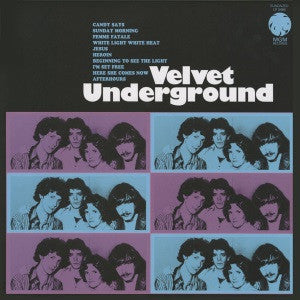 Velvet Underground - s/t (Best of) 180g Colored Vinyl!