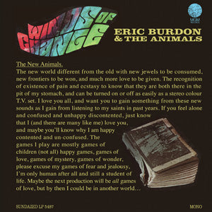 Eric Burdon & the Animals - Winds of Change - LTD colored vinyl