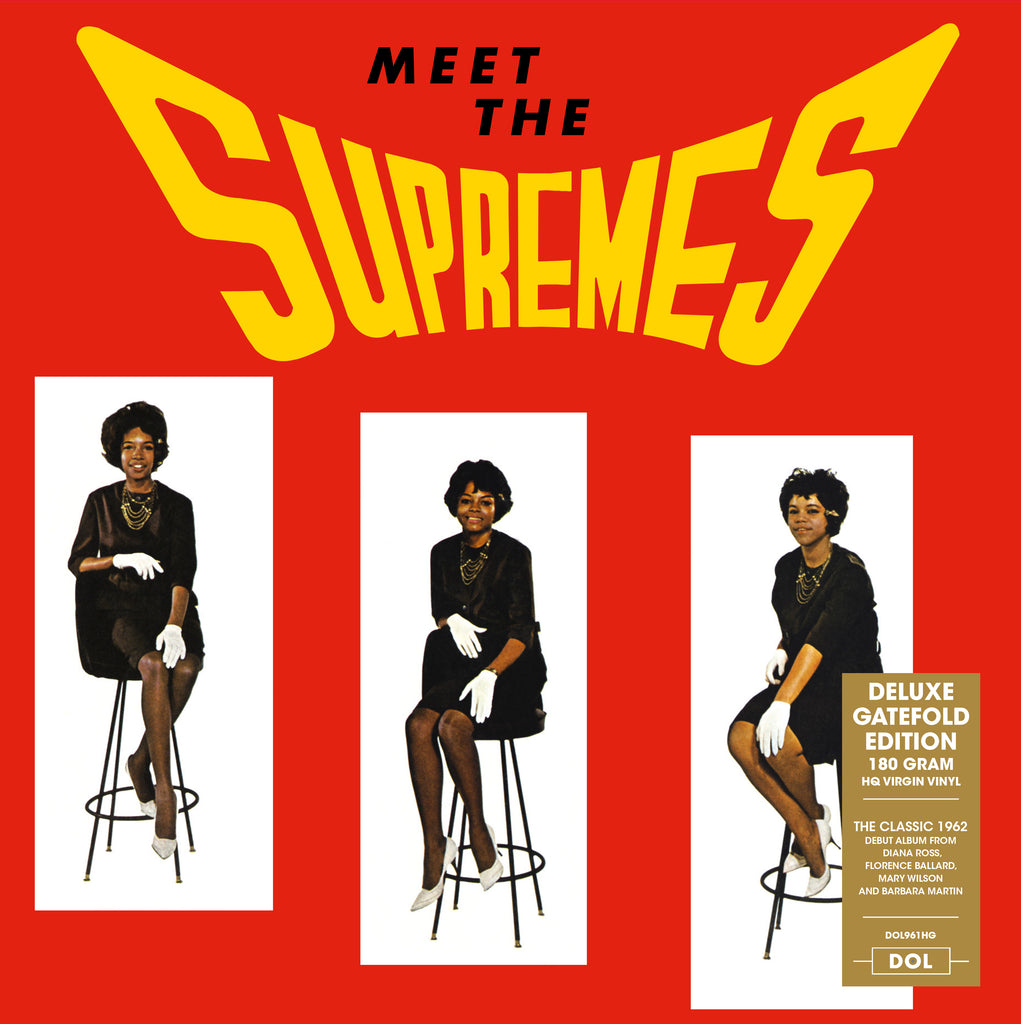 Supremes - Meet the Supremes Import 180g LP w/ exclusive gatefold