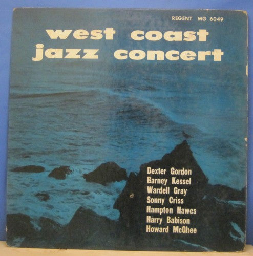 Dexter Gordon - West Coast Jazz Concert