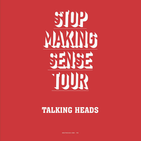 Talking Heads - Stop Making Sense Tour 2 LP - 180g colored vinyl