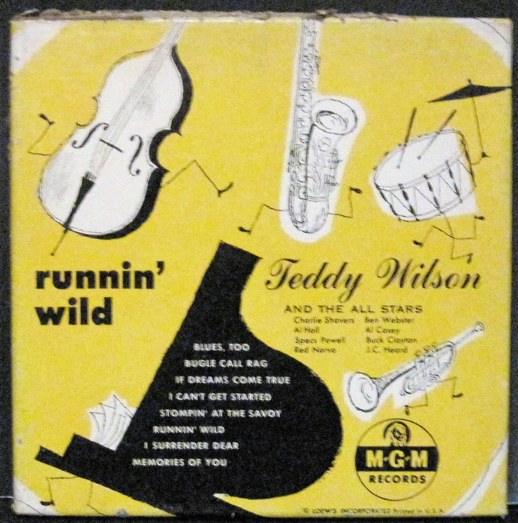 Teddy Wilson & The All Stars - Runnin' Wild (Four 45rpm Box Set)