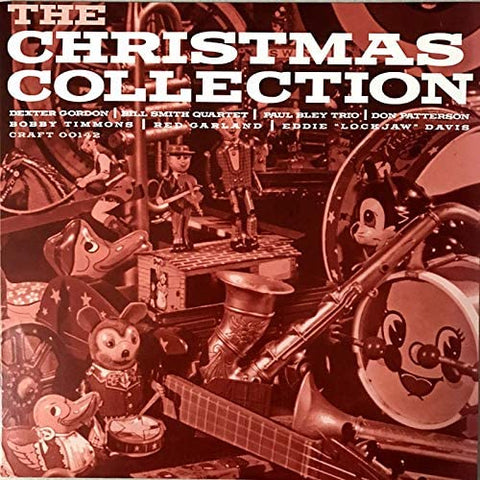 Various - The Christmas Collection - 10 Christmas jazz interpretations on RED vinyl