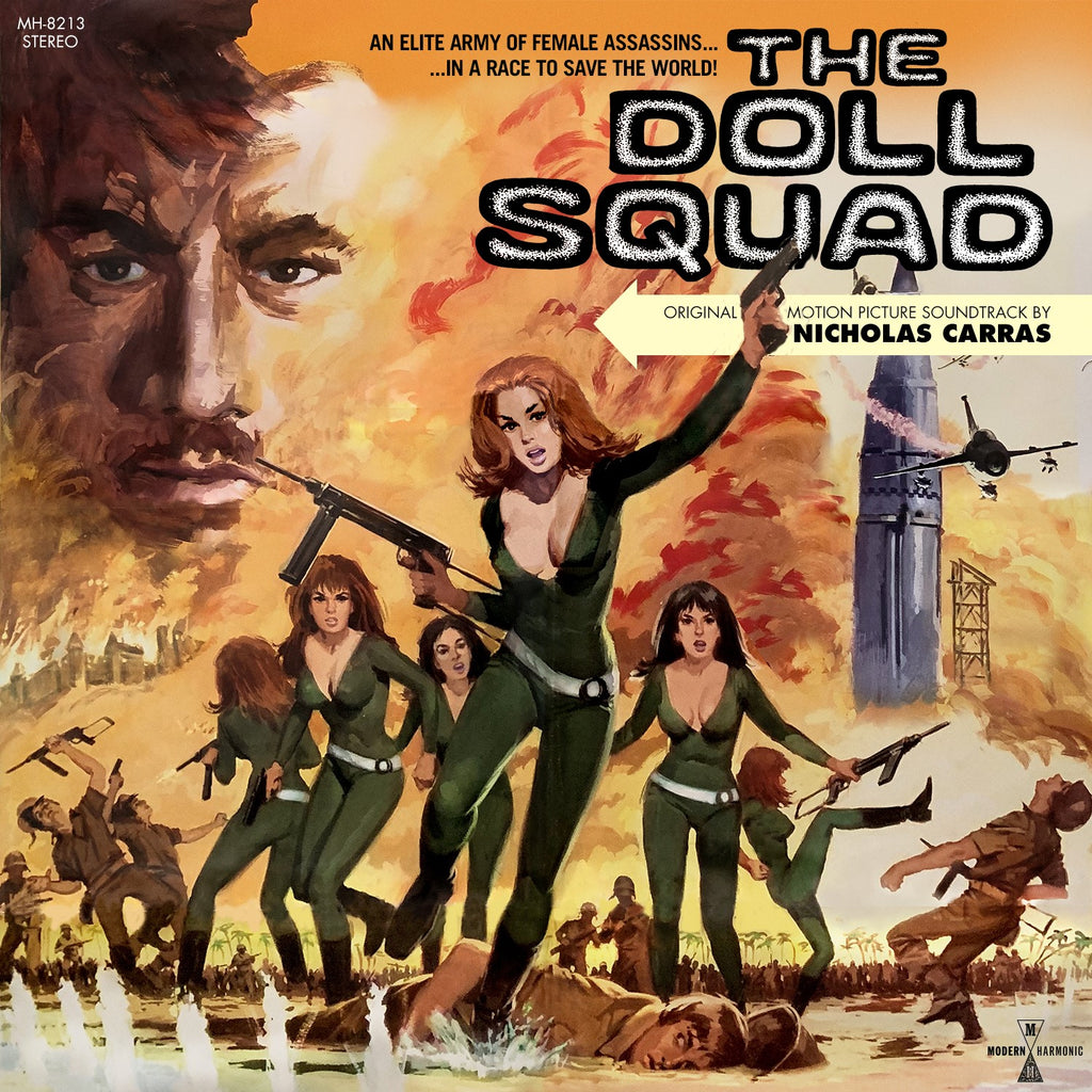 The Doll Squad - Motion Picture Soundtrack on LTD colored vinyl w/ DVD!