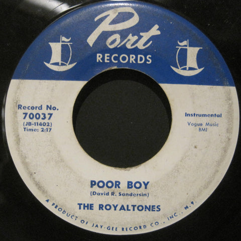 Royaltones - Seesaw b/w Poor Boy