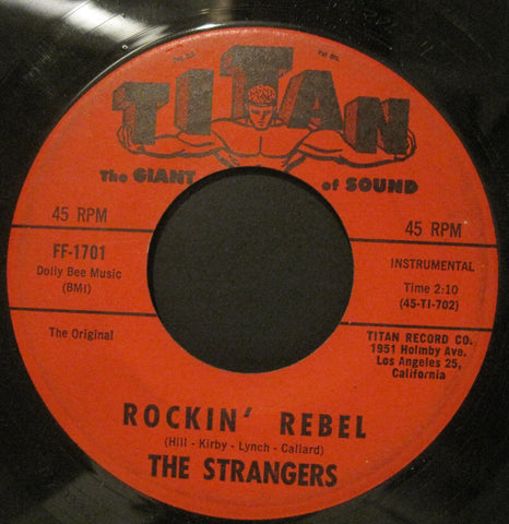 Strangers - The Caterpillar Crawl b/w Rockin' Rebel