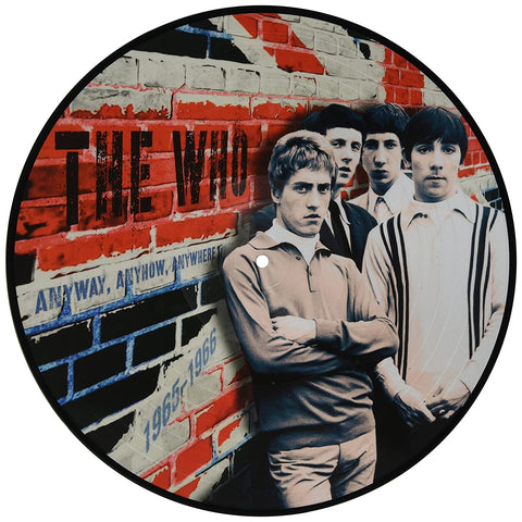 The Who - Anyway, Anyhow, Anywhere - Live in 1965 & 1966 limited import PICTURE DISC