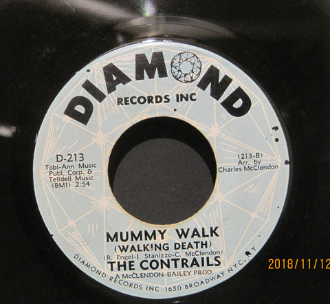 Contrails - Mummy Walk (Walking Death) b/w Someone