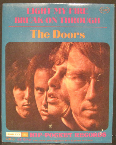 Doors - Light My Fire b/w Break on Through Hip-Pocket Record