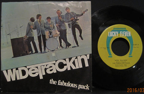 Fabulous Pack - Widetrackin' b/w Does it Matter to You Girl