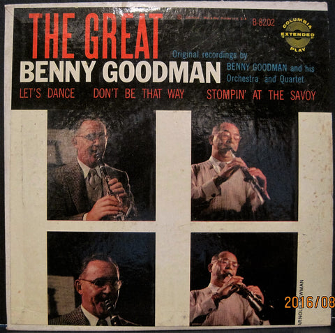 Benny Goodman - The Great Benny Goodman Ep