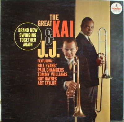 J. J. Johnson & Kai Winding - The Great Kai & J. J.