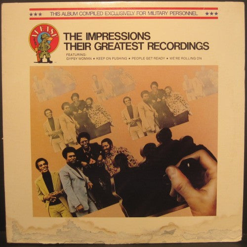 Impressions - Their Greatest Recordings