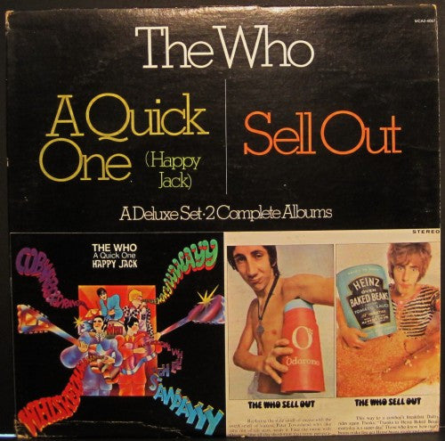 Who - A Quick One (Happy Jack) / Sell Out