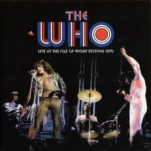 The Who - Live at The Isle of Wight Festival 1970 3 LP set - Colored vinyl!
