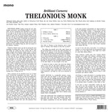 Thelonious Monk - Brilliant Corners - import LP w/ gatefold jacket