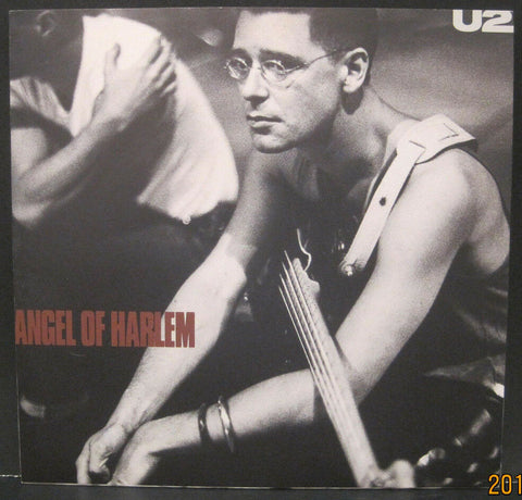 U2 - Angel of Harlem b/w A Room at The Heartbreak Hotel w/PS