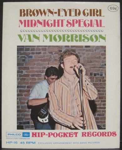 Van Morrison - Brown-Eyed Girl b/w Midnight Special - Hip-Pocket Record