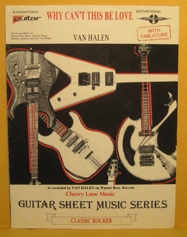 Why Can't This be Love - 1986 Sheet Music - Van Halen