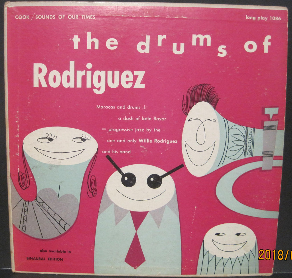 Willie Rodriguez - The Drums of Rodriguez