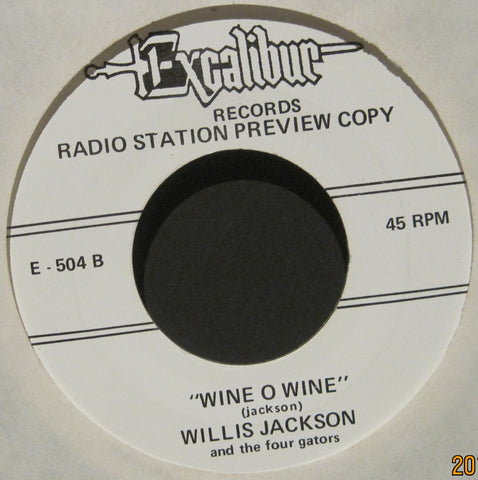 Willis Jackson - Wine O Wine b/w Don & Juan - Magic Wand