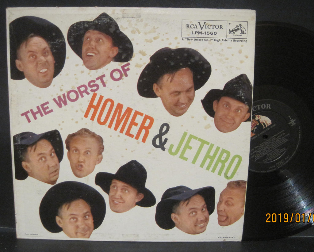 Homer & Jethro - The Worst of Homer & Jethro