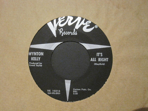 Wynton Kelly - It's All Right b/w Little Tracy