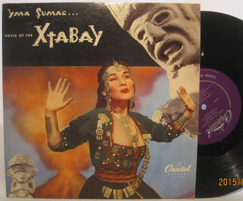 Yma Sumac - Voice of the Xtabay 10""