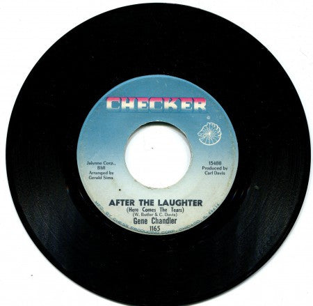 Gene Chandler - After The Laughter/ To Be A Lover