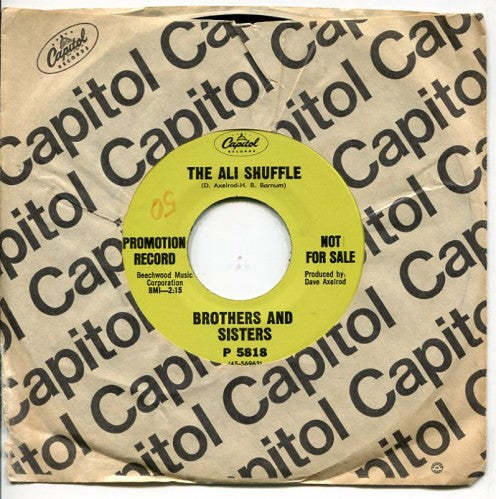 Brothers and Sisters - The Ali Shuffle/ Shake A Lady