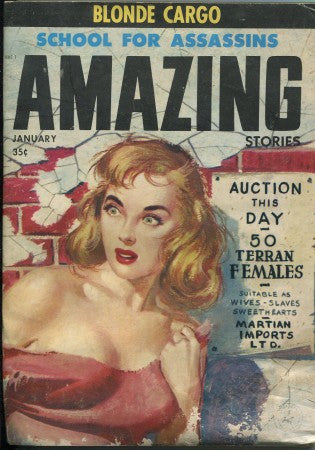 Amazing Stories - January 1958
