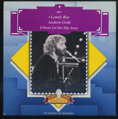 Andrew Gold - Lonely Boy/ Never Let Her Slip Away