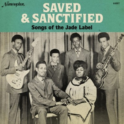 Various - Saved & Sanctified - Songs of the Jade Label