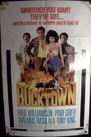 Bucktown - Original 1975 Movie Poster