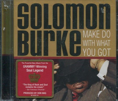 Solomon Burke - Make do with what you have