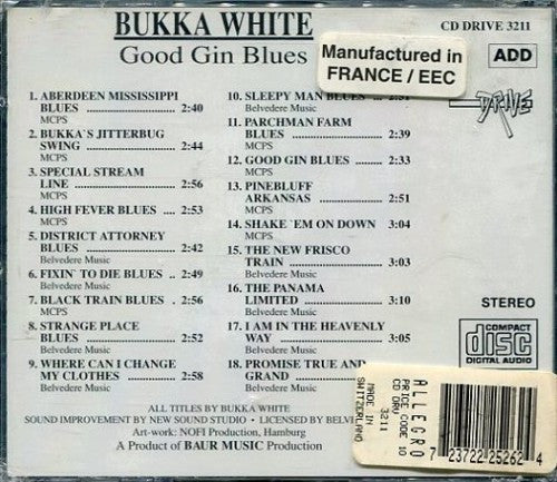 Bukka White - Good Gin Blues