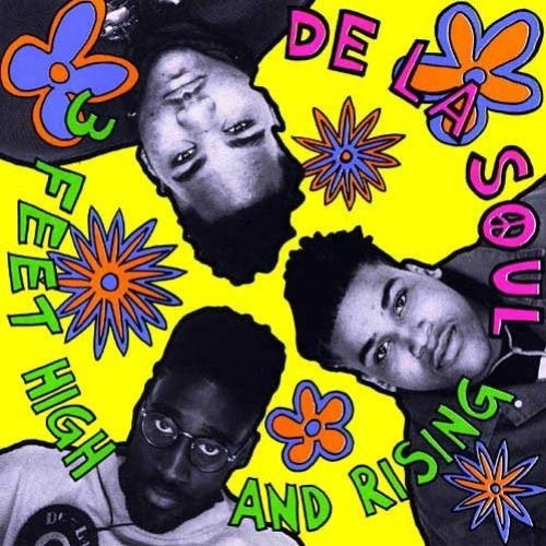 De La Soul - 3 Feet High and Rising - 3 LP import set on colored vinyl!