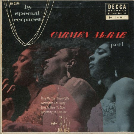 Carmen McRae - By Special Request