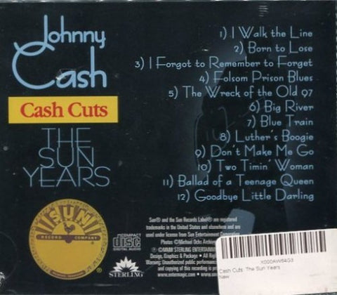 Johnny Cash - Cash Cuts: The Sun Years