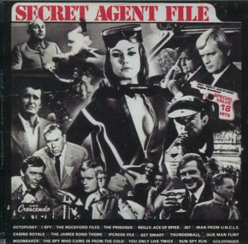 Billy Strange - Secret Agent File