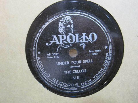 Cellos - Under Your Spell b/w The Juicy Crocodile