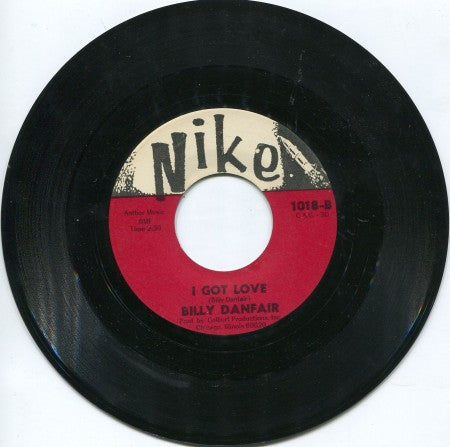 Billy Danfair - I Got Love/ Trouble, Trouble, Trouble