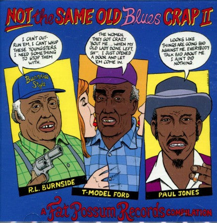 Various - Not The Same Old Blues Crap 2