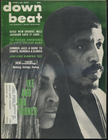 Down Beat Apr 30, 1970/ Ike & Tina Turner
