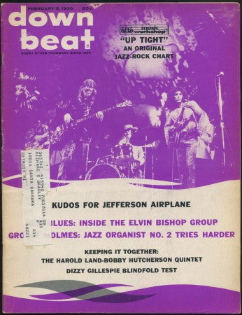 Down Beat - Feb 6, 1970/ Jefferson Airplane